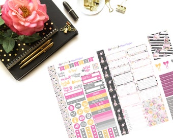 Shopping Girl Personal Kit// Personal Planner Stickers