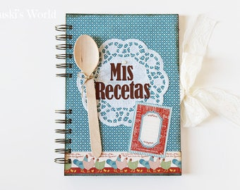 Cookbook, vintage, recipe book, Recipes, Cookbook, Spoon