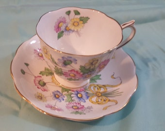 Royal Albert bone China cup and saucer daisy number 4