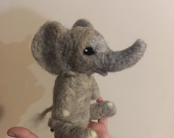 Jointed Elephant doll