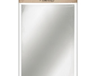 Idea-Ology Adhesive Backed Mirrored Sheets 6'X9' 2/Pkg by Tim Holtz