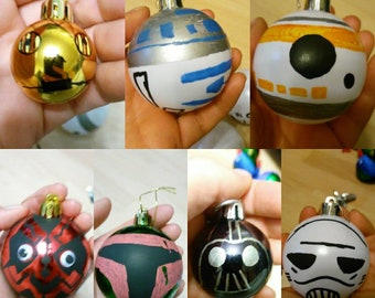 Star Wars Inspired Baubles.