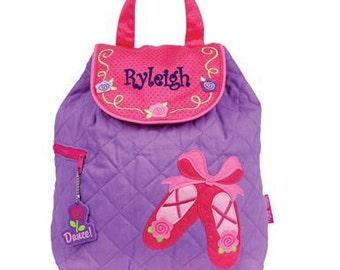 DANCE BAG, Personalized Dancers Backpack, Ballet Bag, Ballerina Bag, Ballerina Backpack, Little Girls Dance Bag, Diaper Bag, Daycare Bag