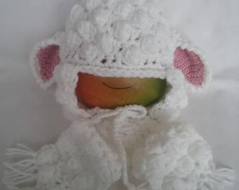 Crochet Cap Sheep