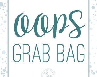 OOPS! Grab Bag - 10 sheets