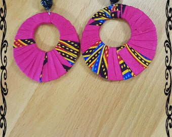 Africa Ankara Earrings