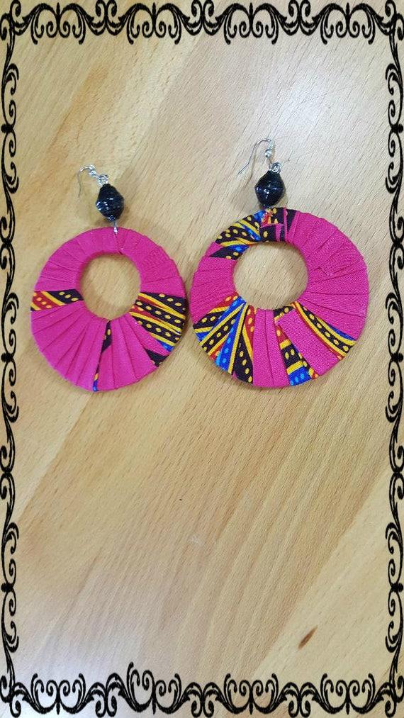 Africa Ankara Earrings