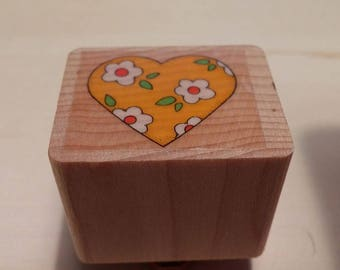 Retired Rubber Stamps    -     Heart