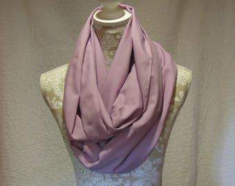 Lavender Infinity Scarf