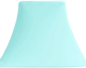 Superior Aqua Sky   SLIP COVERS For Lampshades