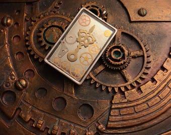 Steampunk Hour Hand Pendant