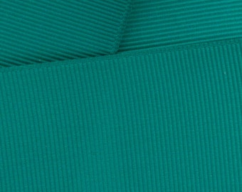 "1.5"" Grosgrain Ribbon Solid 346 Jade 5yd"