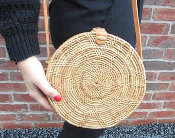 Basket Bag Round