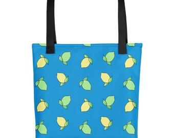 Lemon Lime Tote Bag