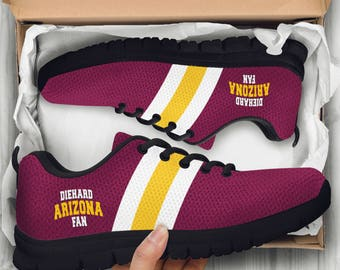 Arizona State Sun Devils, College Sports, Handcrafted Custom Running Shoes, Sneakers Women/Men, Basketball, Football