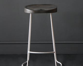 Industrial Vintage Bar Stool
