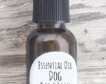 Essential Oil Dog Ear Wash