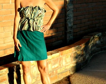 Linen Wrap Skirt-Wrap Skirt-Skirt-Skirts-Wrap Skirts-Bella LaChicSewEasy to Wear Womens Clothing Staples-Chic Clothes for Many Body Sizes