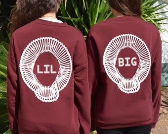 Big Little Sorority Reveal Matching Sweatshirts For College Sorority Reveal Jumpers Matching Sorority Reveal Big Little GBig GGBig Jumpers