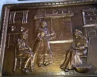 (72) embossed copper Panel