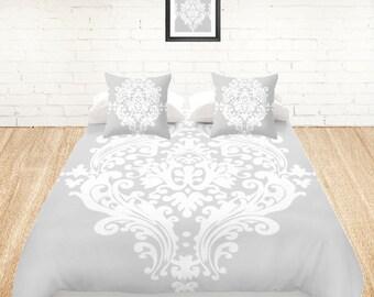 housse de couette boh me etsy. Black Bedroom Furniture Sets. Home Design Ideas