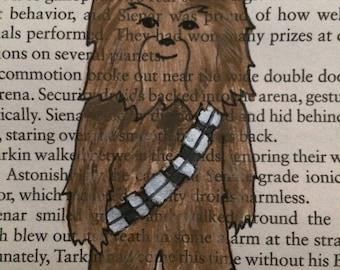 Little Fuzzball Chewbacca Book Art