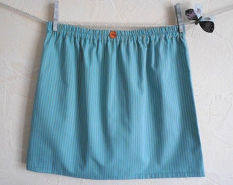 "Pretty cotton skirt pattern ""Hortense"" sizes available: S (36-38), M (38-40)"