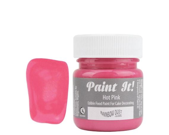 Hot Pink Edible Paint Pot - edible art paint, edible paint, edible ...
