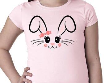 Girl's Easter Bunny Tee
