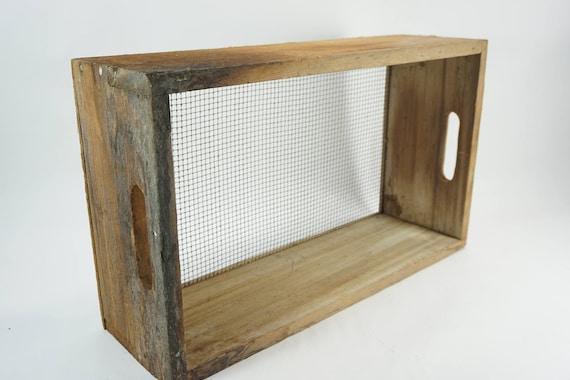 Suelo de madera y Metal tamiz, tamiz de suelo, criba, tamiz de ...