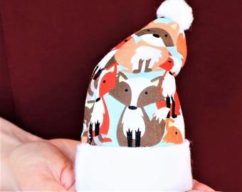 Fox, Fox Baby Gifts, Fox Baby Boy, Fox Baby Girl, Fox Baby Shower Gift Fox Ornament Fox Christmas Ornament Fox Baby Ornament Personalized