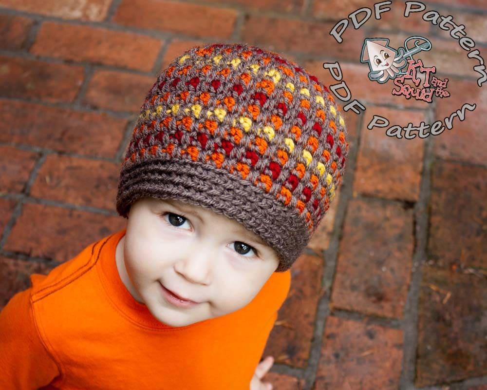 crochet hat pattern crochet pattern striped crochet pattern