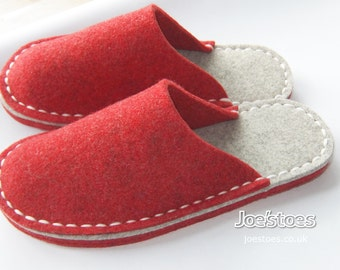 U.S. sizes Easy to Sew Slipper Kit by Joe's Toes - ships worldwide - UK and EU sizing also available