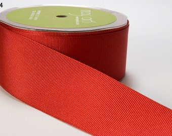 "3/4"" Red Grosgrain Ribbon from May Arts - 5 Yards"