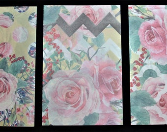 Preppy flower vellum, flower vellum, planner vellum, planner dashboard, planner dashboard vellum, fashion vellum, colored vellum, patterned