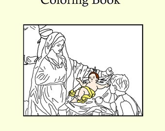 Joyful Christmas Coloring Book - Digital