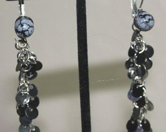 Black and Silver Dangles