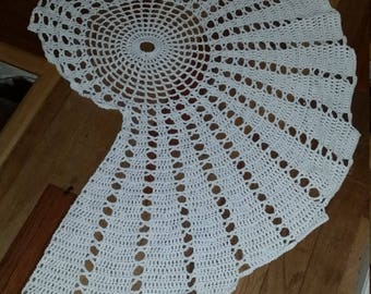 Crochet Cotton Sea Shell Rug