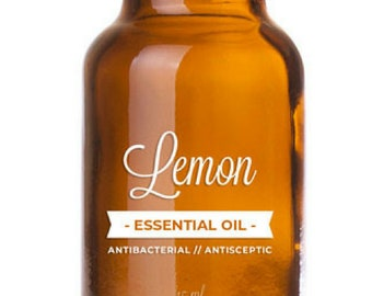 100% Pure & Natural Lemon Essential Oil