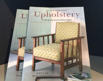Renovate Home Decor Book - Quick and Easy Upholstery Step By Step Guide Book