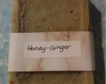 Honey and Ginger Soap