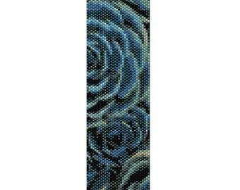Peyote Bracelet Pattern Repetitive Design Cactus Blossom