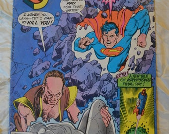 Superman Comic Book, DC Comics, Vol. 44, No.375, September 1982
