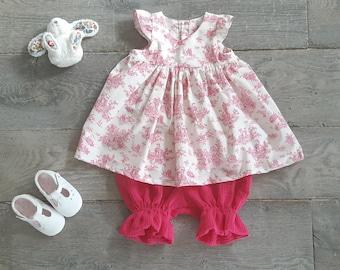 Tunic bloomer set