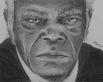 Samuel L Jackson as Stephen in Django
