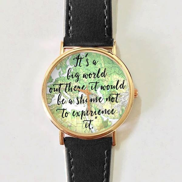 Travel quotes watch women watches leather watch mens zoom gumiabroncs Images