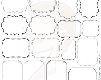 Clip Art Borders Frame Clipart & More Clipart by