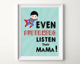 Superhero prints, Superhero art,Kids quotes,Superhero nursery,Superhero wall art,Superman,Boys room decor,Boys nursery art, Superhero