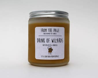 Drink of Wizards Soy Candle - 8 oz