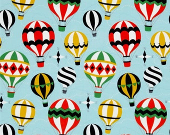 Michael Miller Fabric Up And Away On Sky DC7205-SKY-D